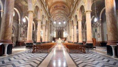 L'interno della Chiesa Parrocchiale - Foto di Gianni Ottonello