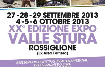 Manifesto XX Expo Valle Stura