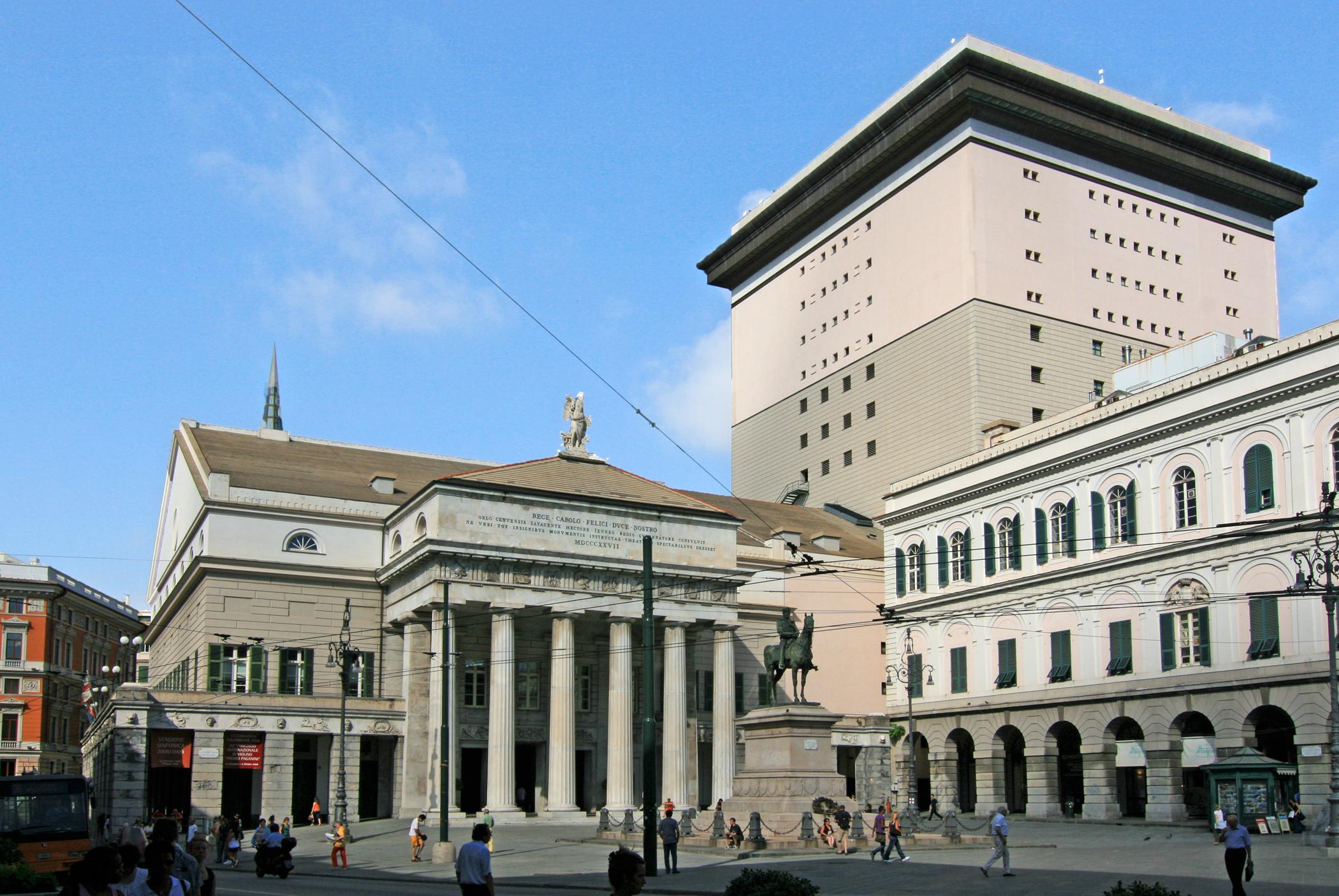 Teatro Carlo Felice - Genova