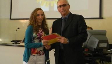 Giada Ottonello premiata dal Rotary Club
