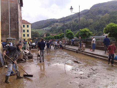 Alluvione a Campo Ligure 2014 - Grazie a tutti i cittadini e ai volontari