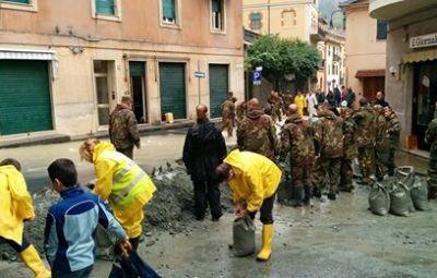 Alluvione a Rossiglione 13 ottobre 2014
