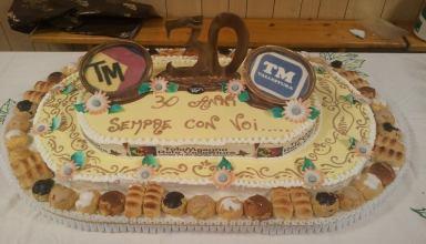 torta 30 anni tele masone