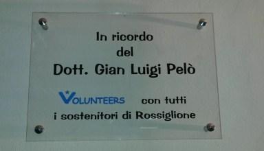 Commemorazione Dr. Pelò