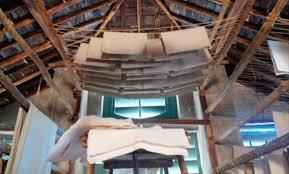 L'essiccatoio al Museo della Carta di Mele