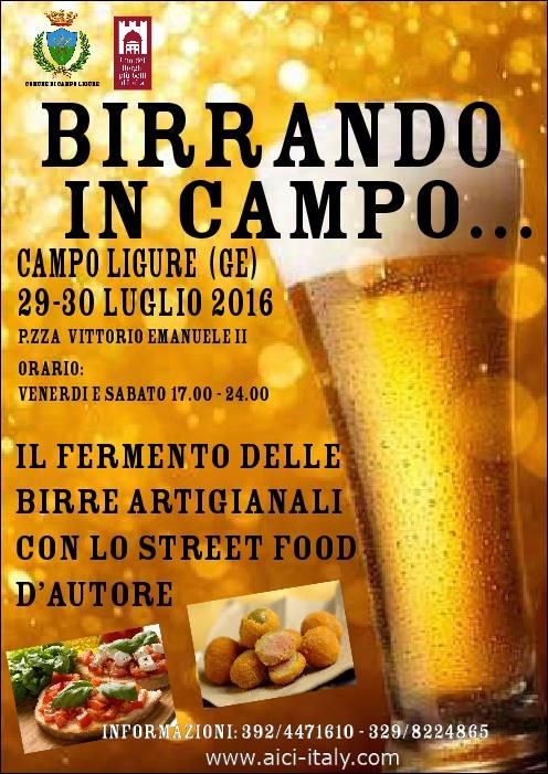 Birrando in Campo Ligure