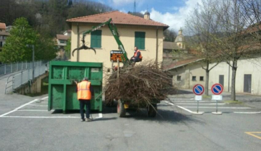 Ramaglie per centrale a biomasse - Rossiglione