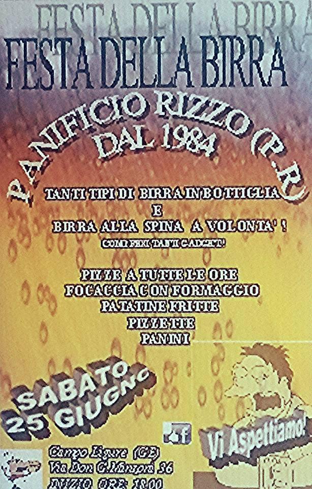 Festa della birra a Campo Ligure