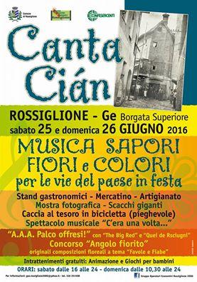 Cantacian a Rossiglione