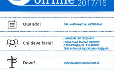 Iscrizioni Online 2017-18