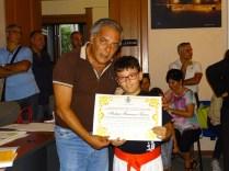 il sindaco premia Tuccio