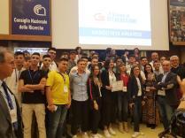 foto premiazione dei team calabresi
