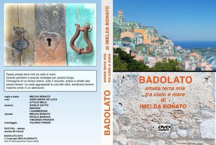 Copertina DVD film di Imelda Bonato su Badolato 29-08-2019