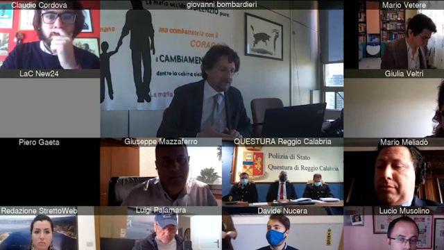 Brogli elettorali a Reggio,  la conferenza stampa dopo gli arresti