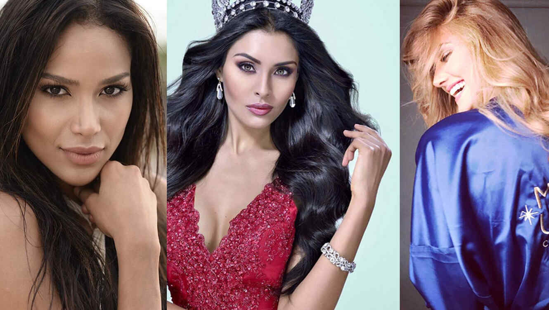Estas Son Las Candidatas Latinas Al Concurso De Miss