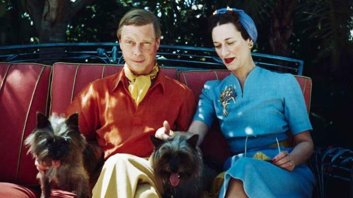 Duke and Duchess of Windsor with Dogs