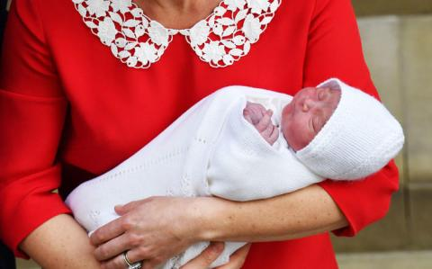 El tercer hijo de Príncipe William y la Duquesa de Cambridge, Kate Middleton