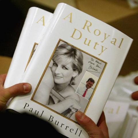"""""""A Royal Duty"""", un libro sobre la princesa Diana"""