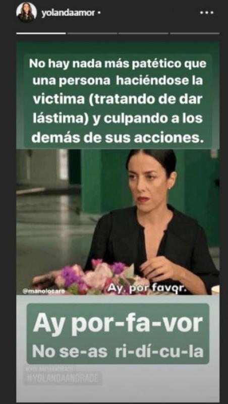 Stories de Yolanda Andrade