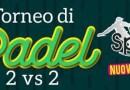 Enna, al via l'11 settembre il primo torneo di Padel