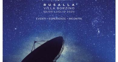 al via il Festival 2020, a Busalla gotha Space economy e innovazione