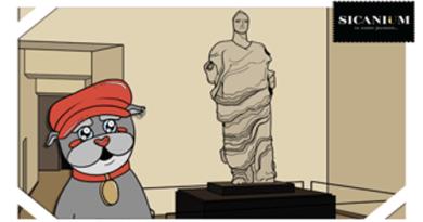 Il cartone animato di Caggiulino Sicanium fa tappa ad Aidone – VIDEO