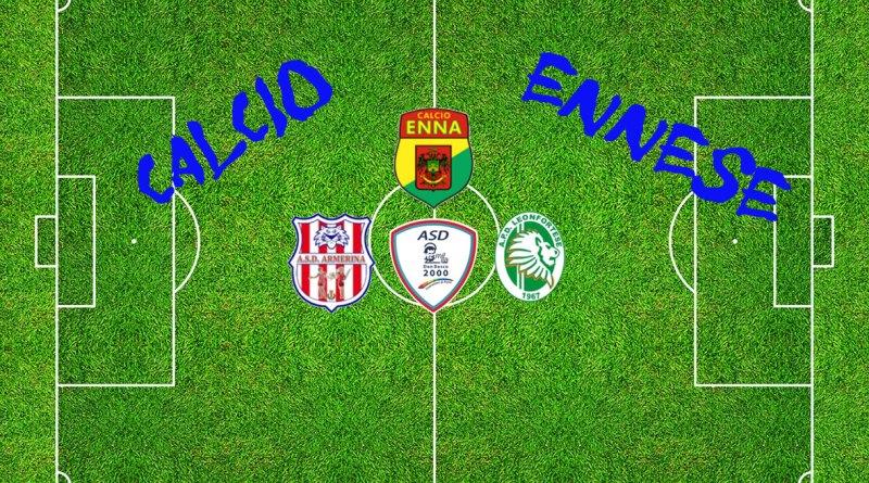 Calcio in provincia di Enna. Vincono Enna e Leonfortese, parte male l'Armerina