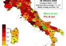 Coronavirus. In Italia il 30 ottobre nelle ultime 24 ore nuovi contagi sono 31.084, i decessi sono 199