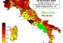 Coronavirus. In Italia il 24 novembre nelle ultime 24 ore i nuovi contagi sono 23.232, i decessi sono 853