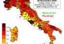 Coronavirus. In Italia il 26 novembre nelle ultime 24 ore i nuovi contagi sono 29.003, i decessi sono 822