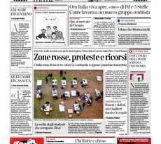 Quotidiani Nazionali         Prime pagine di oggi | Sabato 16 Gennaio 2021