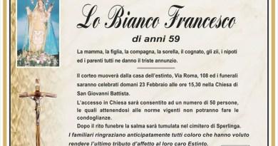 Annuncio Agenzia Onoranze Funebri Lavoro Carmelita