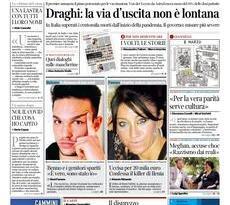 Prime pagine dei giornali di oggi            Rassegna Stampa | Martedì  9 Marzo 2021