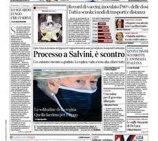 Prime pagine dei giornali di oggi         Domenica 18 Aprile 2021 | Rassegna Stampa Quotidiani