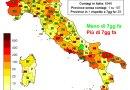 Coronavirus. In Italia l'11 maggio nelle ultime 24 ore i nuovi contagi sono 6.946, i decessi sono 251