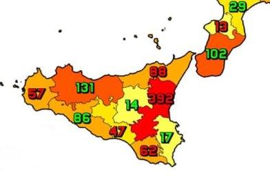 Coronavirus. In Sicilia l'11 maggio nelle ultime 24 ore i nuovi contagi sono 894, i decessi sono 26