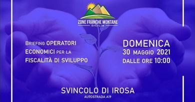 """""""In… montagna non in…visibili"""": domenica 30 maggio nuovo sit in delle ZFM allo svincolo Irosa per la fiscalità di sviluppo"""