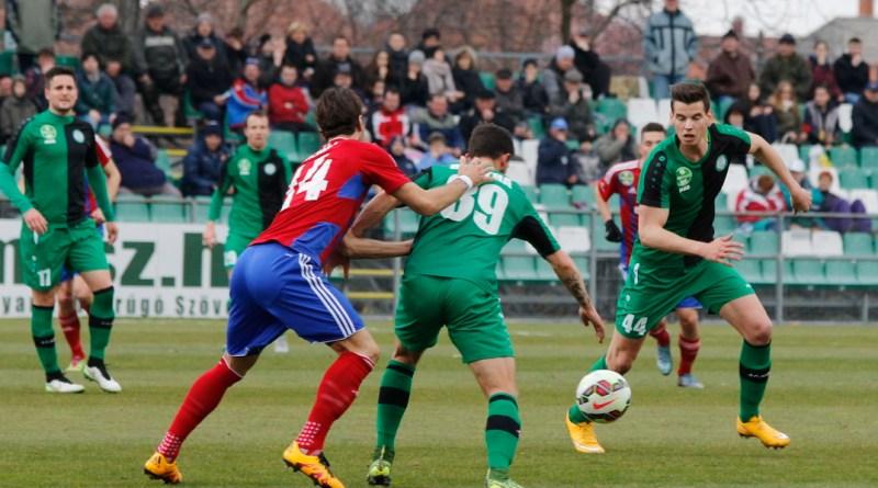 A Paksi FC a Vasas ellen küzdött a Fehérvári úton. Fotó: Molnár Gyula/Paksi Hírnök