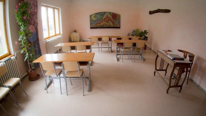 Waldorf-iskola Dunakömlődön. Fotó: Aranyhal Waldorf Egyesület