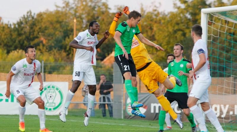 A DVTK volt a Paksi FC ellenfele a Fehérvári úton. Fotó: Molnár Gyula/Paksi Hírnök