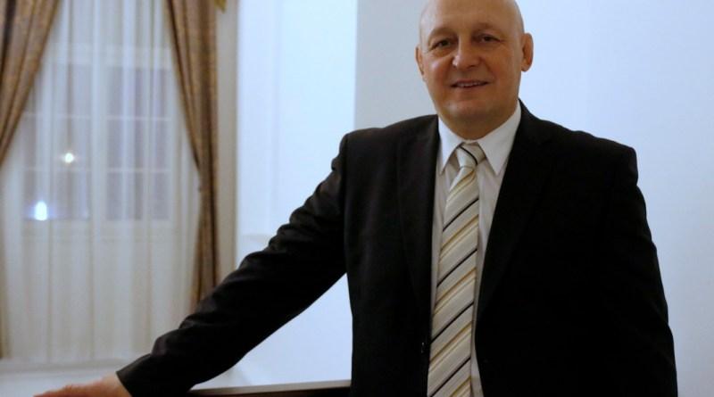 Hangyási László. Fotó: Molnár Gyula/Paksi Hírnök