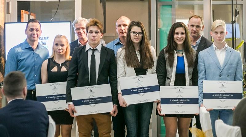 A Jövő reménységei program támogatottjai. Fotó: Mészáros Virág/Kolonics György Alapítvány