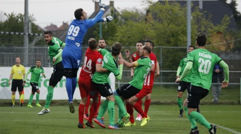A DVTK-t fogadta a Paksi FC a Fehérvári úton. Fotó: Molnár Gyula/Paksi Hírnök