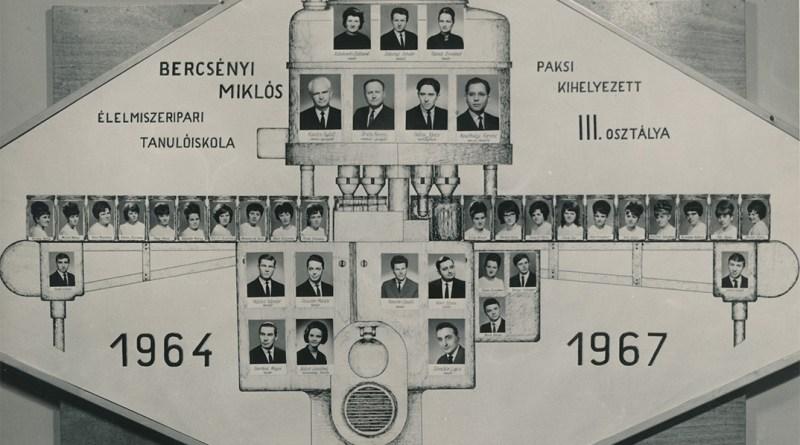 Az 1967-es osztálytabló. Forrás: Bach János