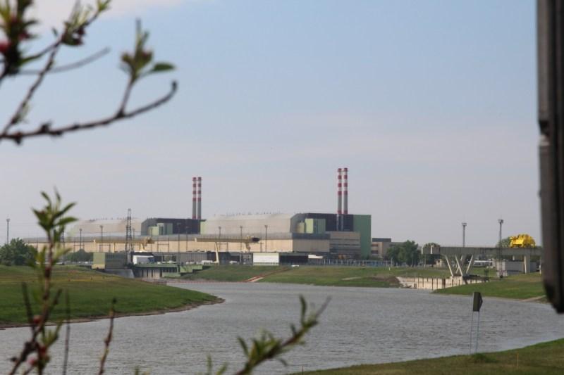 A Paksi Atomerőmű madártávlatból. Fotó: Vida Tünde