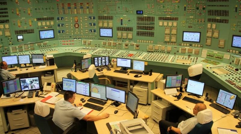A Paksi Atomerőmű vezénylőterme. Fotó: Vida Tünde