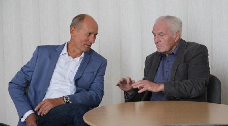 Horváth Miklós és Pónya József. Fotó: Vida Tünde