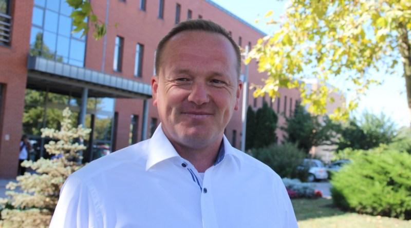 Szabó Péter polgármesterjelölt. Fotó: Vida Tünde