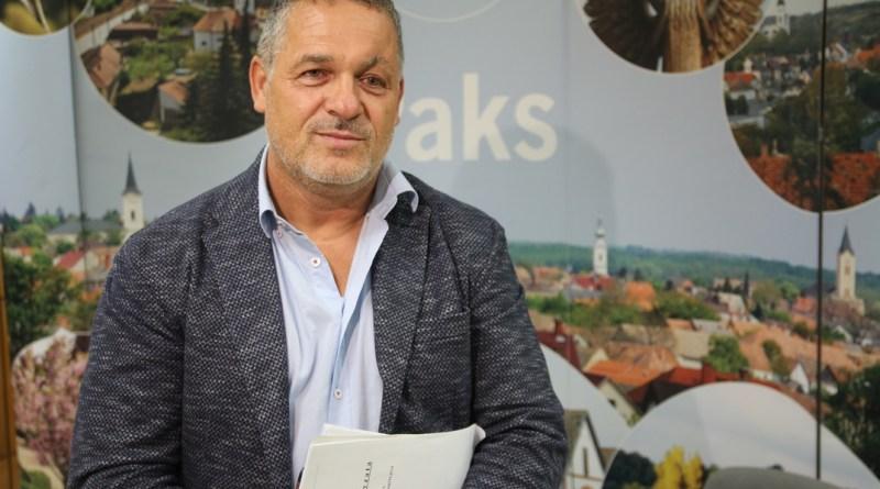 Kovács Sándor alpolgármester. Fotó: Vida Tünde