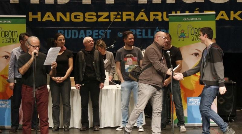 Pillanatkép az előző fesztivál eredményhirdetéséről. Fotó: Molnár Gyula/Paksi Hírnök archív